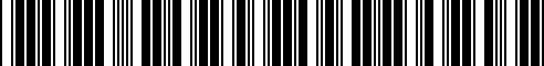 Barcode for 13028-20P25