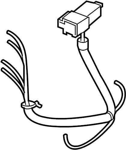 Nissan Leaf Steering Column Wiring Harness. MCVT - 24168 ...