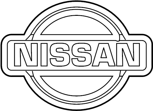Ed Martin Nissan Fishers >> Nissan Maxima Grille Emblem (Front) - 62890-7Y000 | ED ...