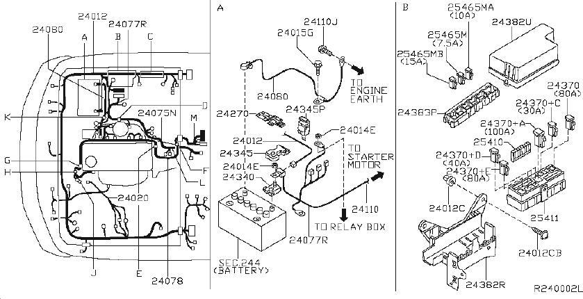 Nissan Armada Fuse  Fitting  Room  Engine